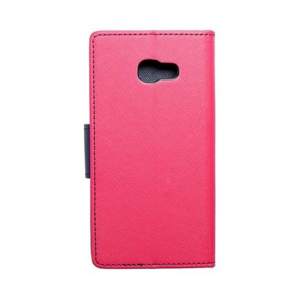 Pouzdro Fancy Book Samsung Galaxy A5 2017 růžové/tmavě modré
