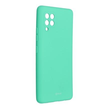 Pouzdro Roar Colorful Jelly Case Samsung Galaxy A42 5G mátově zelené