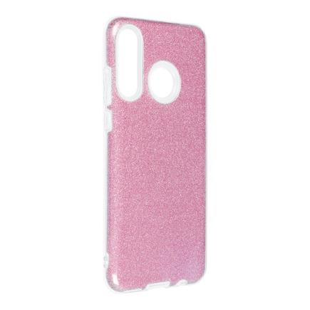 Pouzdro Shining Huawei P30 Lite růžové