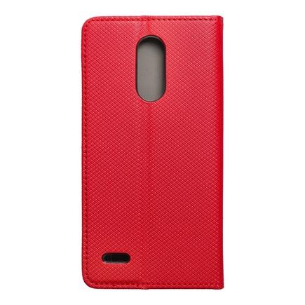 Pouzdro Smart Case book LG K10 2017 červené