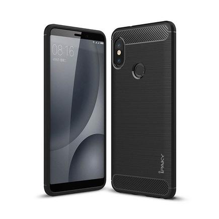 Slim Carbon elastické pouzdro Xiaomi Mi A2 / Mi 6X černé