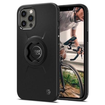 Spigen cyklistické pouzdro Gearlock GCF131 iPhone 12 Pro Max černé