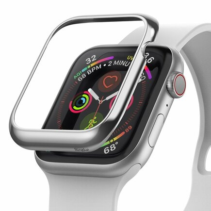 Bezel Styling pouzdro pro Apple Watch 40 mm stříbrné (RGAP0001)