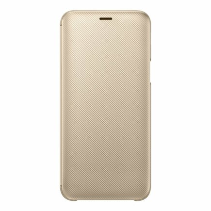 Folio Pouzdro zlaté pro Galaxy J6 2018 (EU Blister)