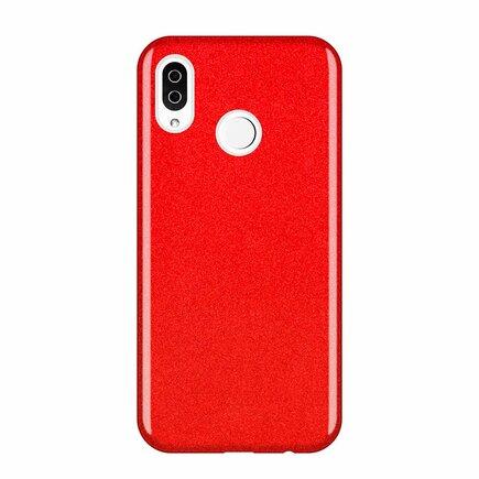 Glitter Case lesklé pouzdro s brokátem Samsung Galaxy A50s / Galaxy A50 / Galaxy A30s červené