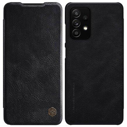 Nillkin Qin Leather Case Pouzdro Samsung Galaxy A52 5G/4G černé