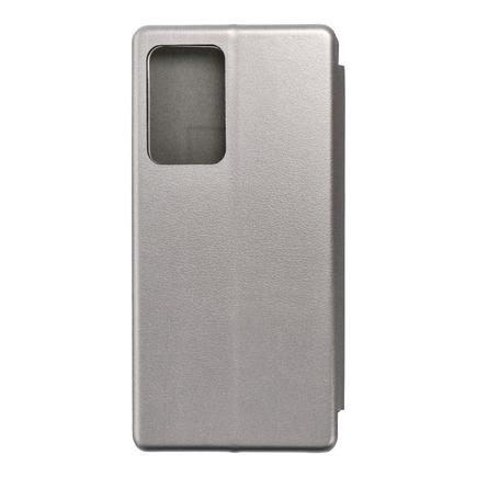 Pouzdro Book Elegance Samsung Galaxy Note 20 Plus šedé