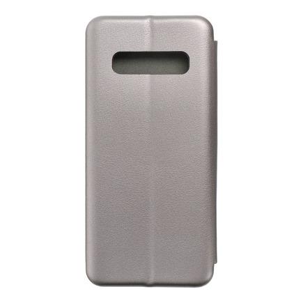 Pouzdro Book Elegance Samsung S10 Plus šedé