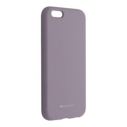 Pouzdro Mercury Silicone iPhone 6 / 6S levandulové