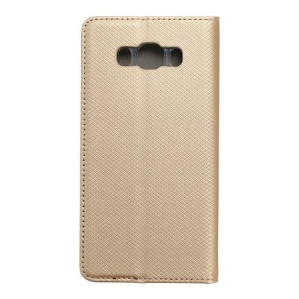 Pouzdro Smart Case book Samsung Galaxy J7 2016 zlaté