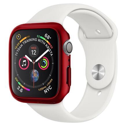 Spigen Pouzdro Thin Fit Apple Watch 4 / 5 (44MM) červené