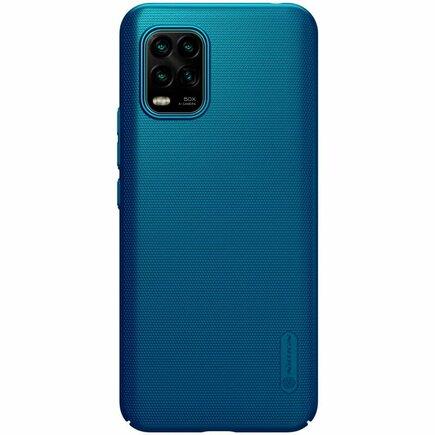 Super Frosted Pouzdro pro Xiaomi Mi 10 Lite Peacock modré