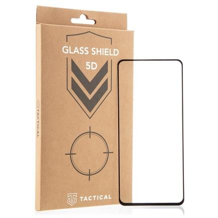 Tactical Glass Shield 5D sklo pro Xiaomi Redmi Note 9 Pro / 9S / 9 Pro Max černé