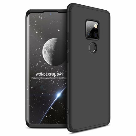 360 Protection Case pouzdro na přední i zadní část telefonu Huawei Mate 30 Lite černé