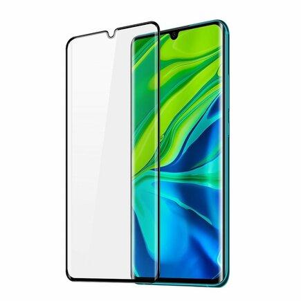Dux Ducis 3D Tempered Glass zakulacené tvrzené sklo 9H na celý displej s rámem Xiaomi Mi 10 Pro / Xiaomi Mi 10 černé (case friendly)