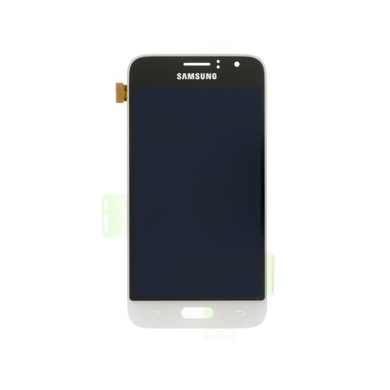LCD display + Dotyk bílý pro Samsung J120 Galaxy J1 2016 (Service Pack)