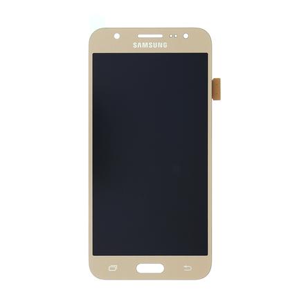 LCD display + Dotyk zlatý pro Samsung J500 Galaxy J5 Gold (Service Pack)