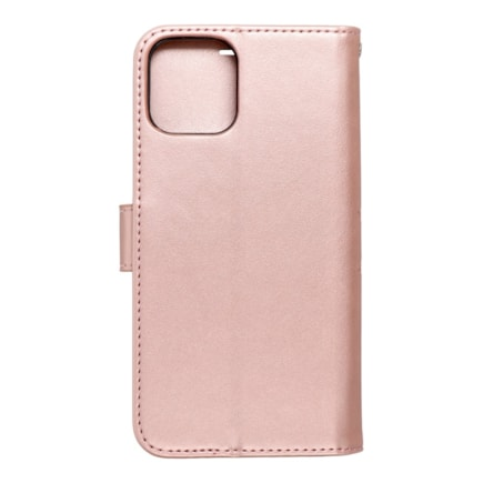 Pouzdro Forcell Mezzo Book iPhone 13 mandala růžově-zlaté