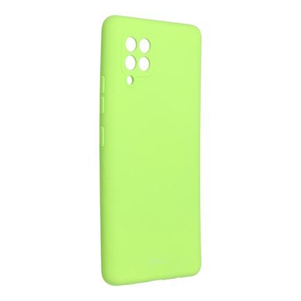 Pouzdro Roar Colorful Jelly Case Samsung Galaxy A42 5G limetkové