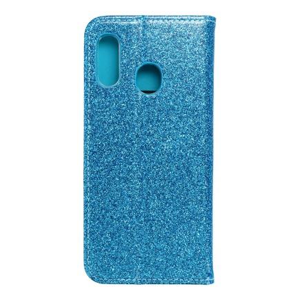Pouzdro Shining Book Samsung A20e modré