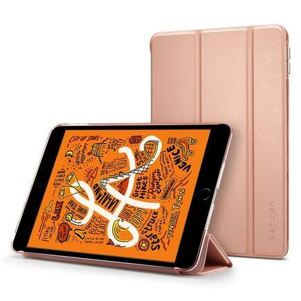 Pouzdro Smart Fold iPad Mini 5 2019 růžově-zlaté