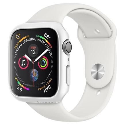 Pouzdro Thin Fit Apple Watch 4/5 (40MM) bílé
