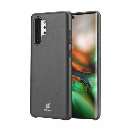 Skin Lite case pouzdro z eko kůže Samsung Note 10 Plus černé