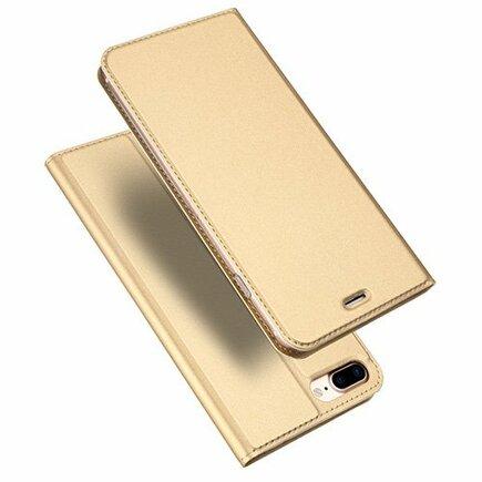 Skin Pro pouzdro s klapkou iPhone 8 Plus / 7 Plus zlaté