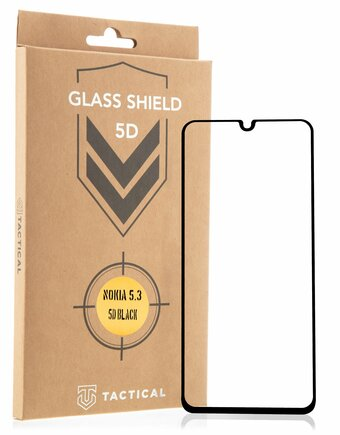 Tactical Glass Shield 5D sklo pro Nokia 5.3 černé