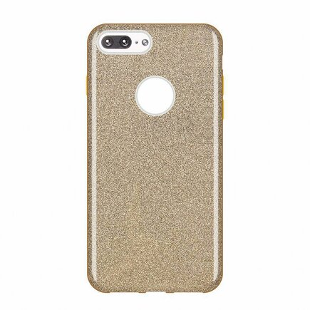 Glitter Case lesklé pouzdro s brokátem iPhone 8 Plus / iPhone 7 Plus zlaté