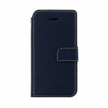 Issue Book Pouzdro pro Samsung Galaxy M11 tmavě modré