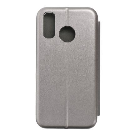 Pouzdro Book Elegance Samsung A40 šedé