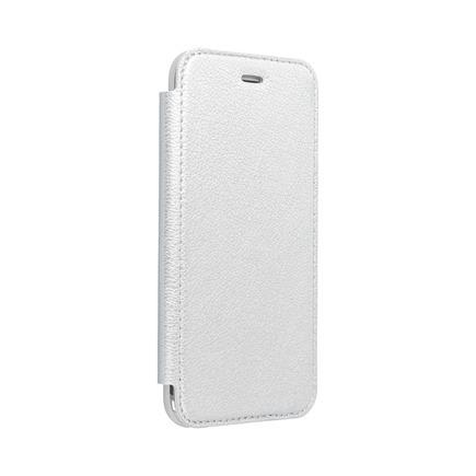 Pouzdro Electro Book Huawei P40 Lite stříbrné