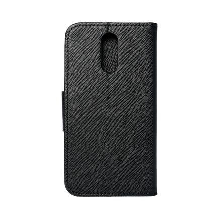 Pouzdro Fancy Book LG Q7 černé