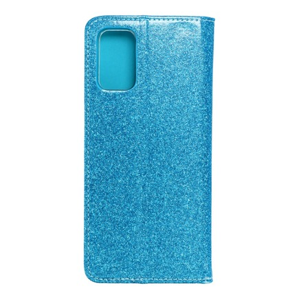 Pouzdro Shining Book Samsung S20 Plus modré