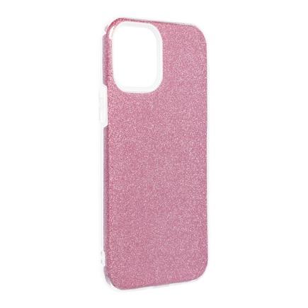 Pouzdro Shining iPhone 12 / 12 Pro růžové