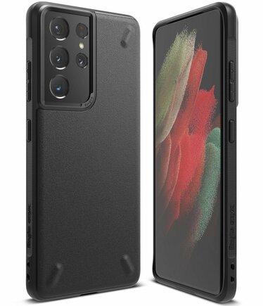 Ringke Onyx odolné pouzdro Samsung Galaxy S21 Ultra 5G černé (OXSG0027)