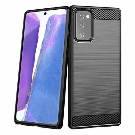 Carbon Case elastické pouzdro Samsung Galaxy Note 20 černé