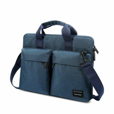 Cartinoe Wei Ling taška na notebook 15,6'' ochrana Anti RFID modrá