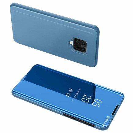 Clear View Case pouzdro s klapkou Xiaomi Redmi Note 9 Pro / Redmi Note 9S modré