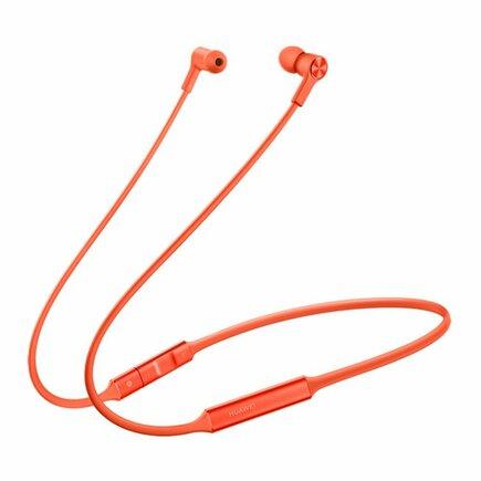 FreeLace Bezdrátová sluchátka Stereo Bluetooth Headset oranžová (EU Blister)