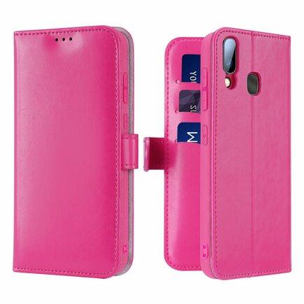 Kado pouzdro s klapkou Samsung Galaxy A20e růžové