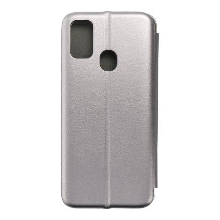 Pouzdro Book Elegance Samsung M21 šedé