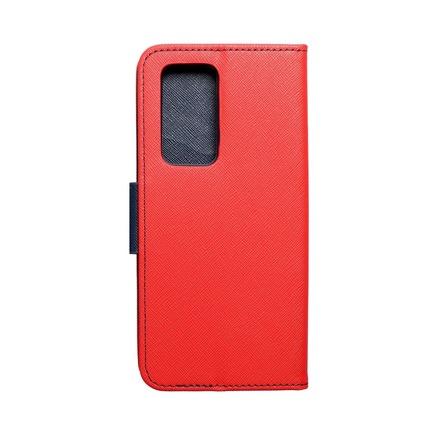 Pouzdro Fancy Book Huawei P40 Pro červené/tmavě modré