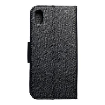 Pouzdro Fancy Book Xiaomi Redmi 7A černé