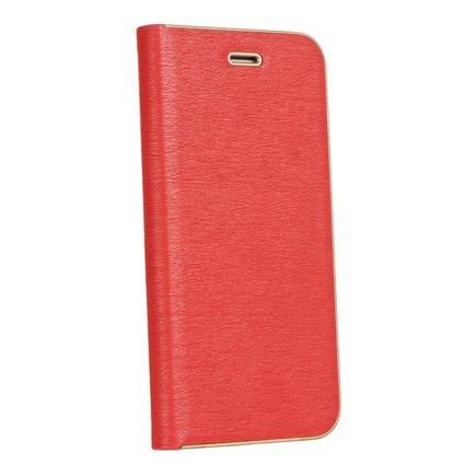 Pouzdro Forcell Luna Book Gold Samsung Galaxy A52 / A52 5G červené