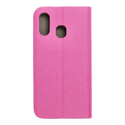 Pouzdro Sensitive Book Samsung A40 růžové