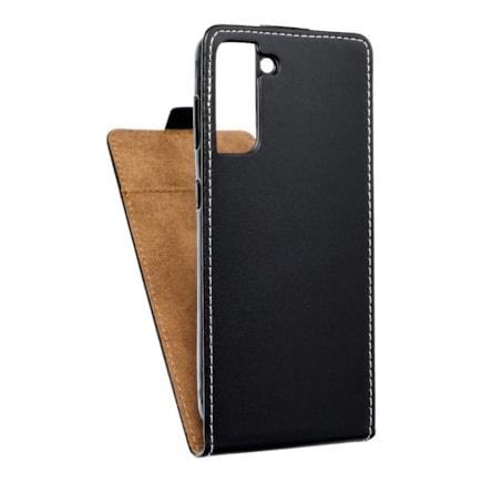 Pouzdro Slim Flexi Fresh svislé Samsung Galaxy S21 černé