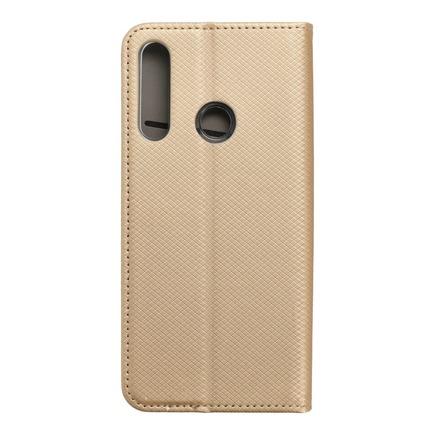 Pouzdro Smart Case book Huawei Y6P zlaté