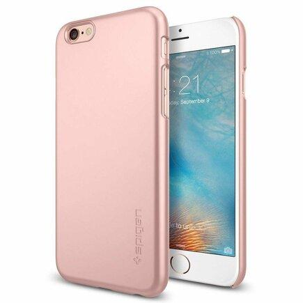 Pouzdro Thin Fit iPhone 6/6S (4.7) růžově-zlaté
